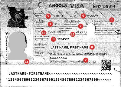 Angola Visa
